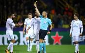 УЕФА ще наказва Карвахал за умишлено изкаран картон
