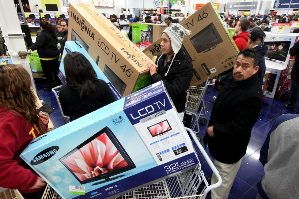 """- Петъкът след Деня на благодарността в САЩ е т.нар. """"Black Friday"""" - официално откриване на коледния пазарен сезон и повод за големи отстъпки в..."""