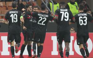Класна петица бетонира Милан в елиминациите