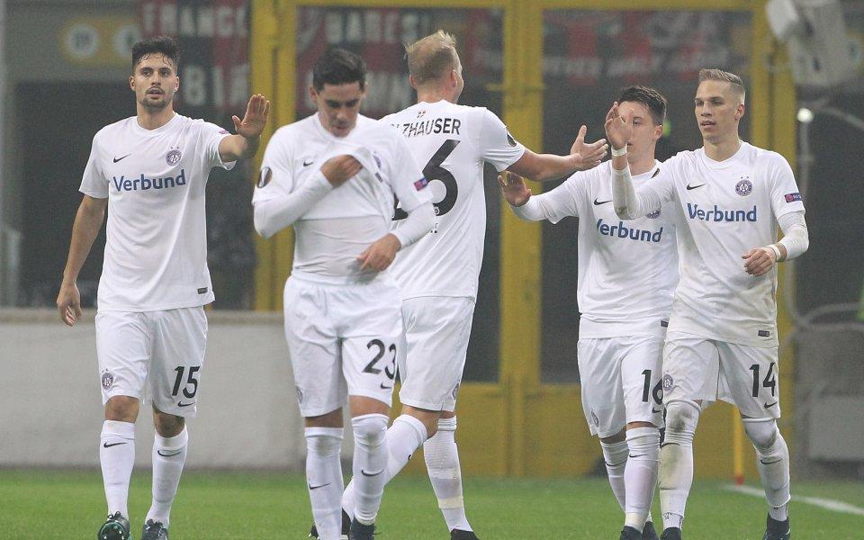 Аустрия Виена победи Адмира Мьодлинг с 1:0 при подновяването на