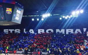 Барселона почете легендата Наваро за 20 години служба
