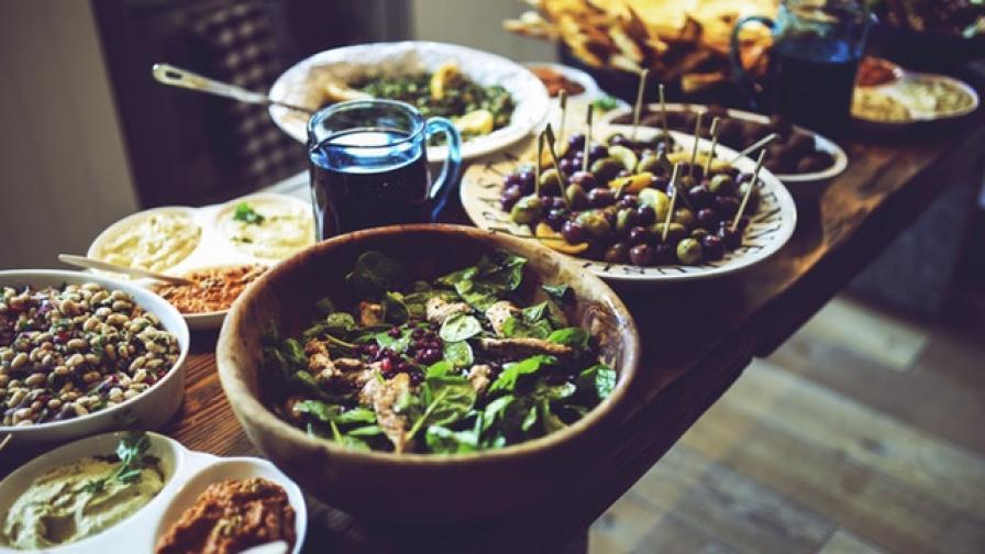 Вегетарианската храна също има своите шедьоври.