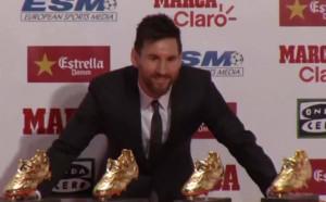 Меси получи 4-та си Златна обувка