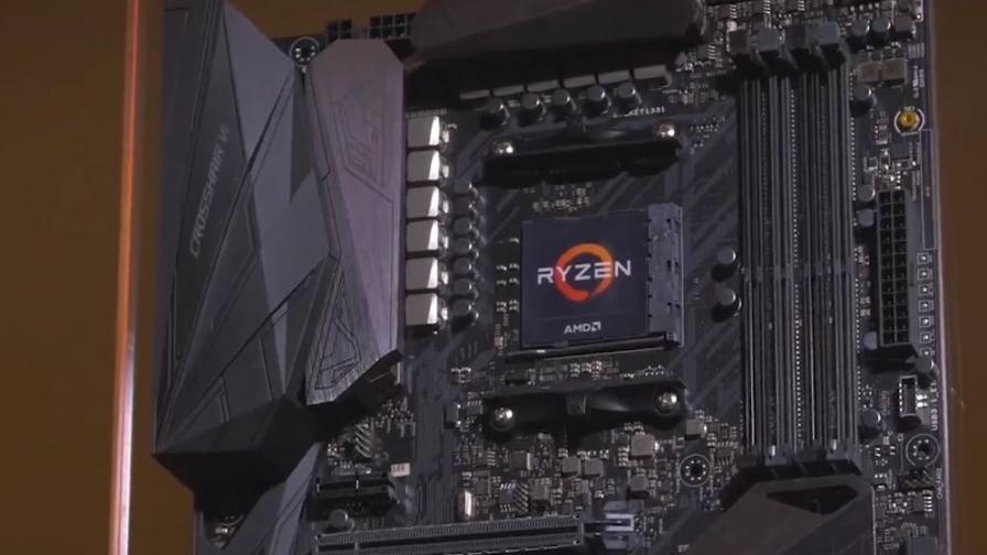 Дънна платка за новите процесори на AMD - Ryzen