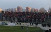 ЦСКА: Фенове на домакините провокираха спирането на мача