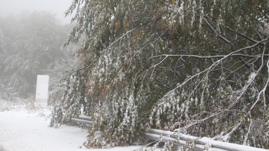 Кога ще спре снегът, хаос по пътищата