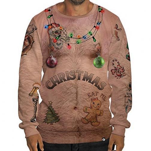 Ето първото ни предложение за най-грозен пуловер.