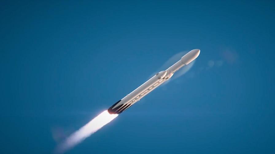 SpaceX отлага първия старт на огромната ракета Falcon Heavy