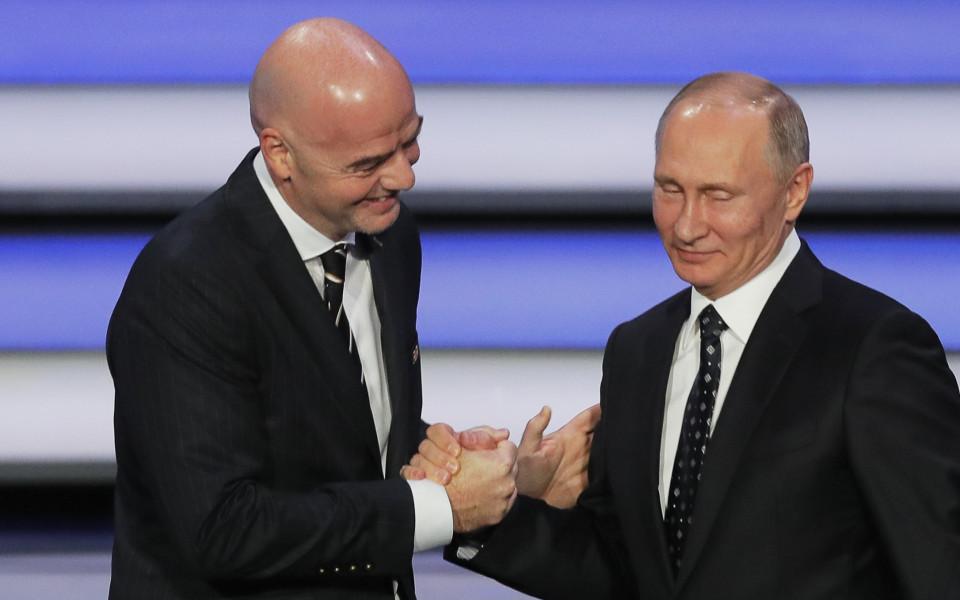 50b5507be97 Путин: Пропагандата срещу Русия рухна на Световното - Футбол свят - Мондиал  2018 - Gong.bg