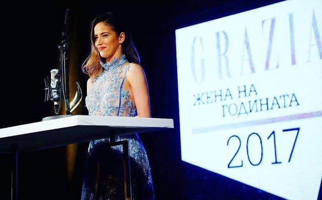 """Гимнастичката Невяна Владинова, която спечели награда за """"Жена нагодината"""" изрази"""