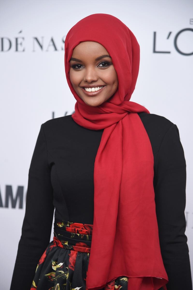 Халима Аден е модел, едно от лицата на модната линия на Кание Уест.