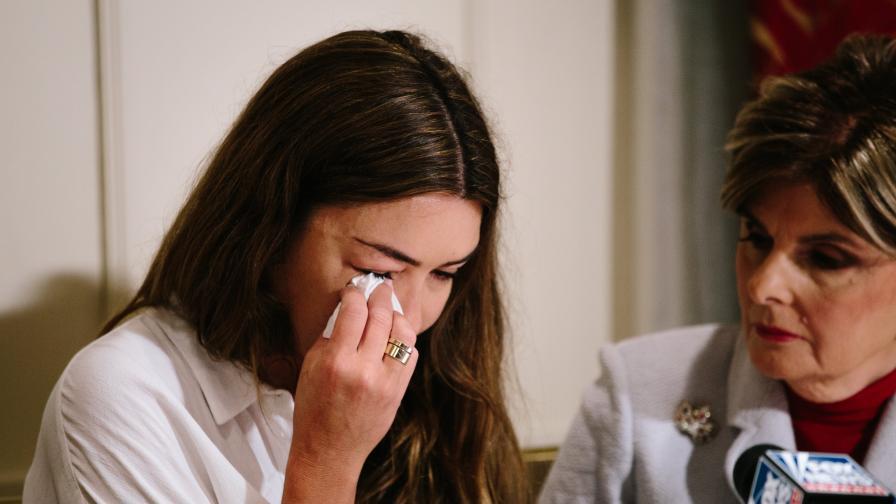 Мими Халеи - бивша асистентка на Уайнстийн, която твърди, че е била изнасилена от него през 2006