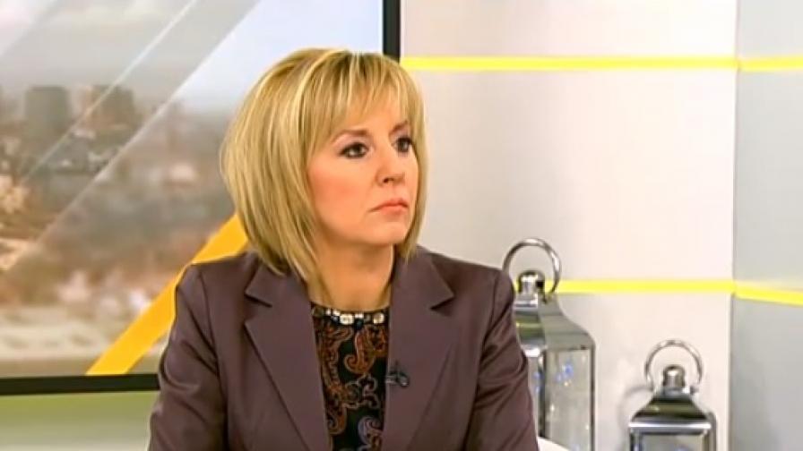 Мая Манолова дава новата цена на парното и тока на прокурор