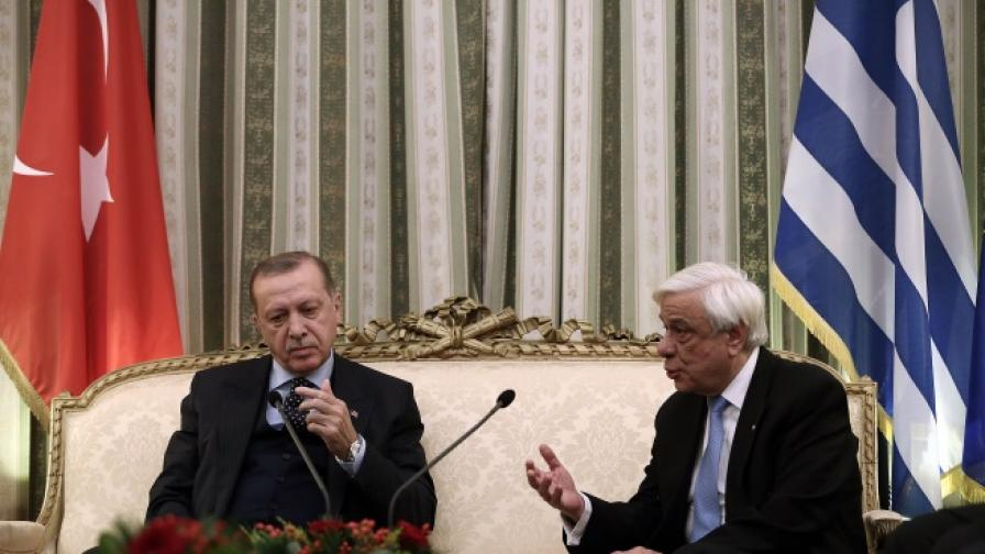 Ердоган иска ревизия на договора за границите на Балканите