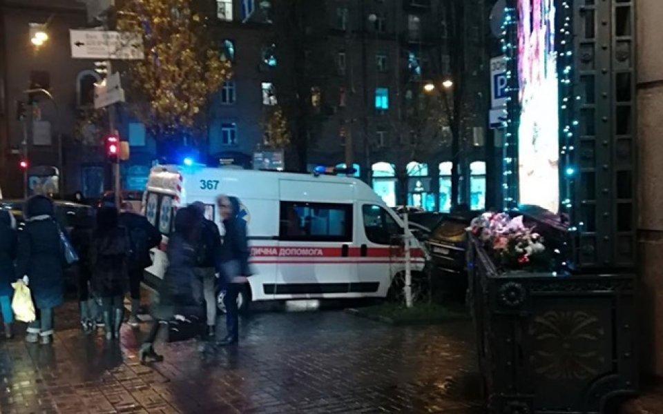 Скандал в Киев, фенове биха членове на делегацията на Партизан