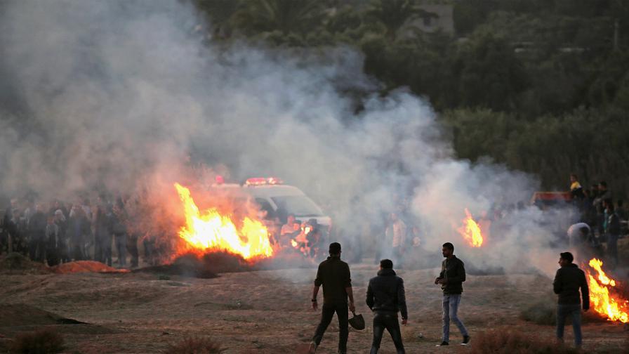 Напрежението в Йерусалим ескалира, десетки ранени