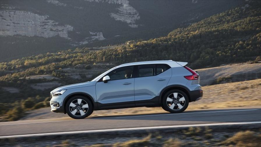 Volvo XC40 води, а не следва (тест драйв)