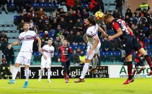 Сампдория изпусна победата срещу Каляри