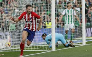 Атлетико измъкна ценен успех над Бетис