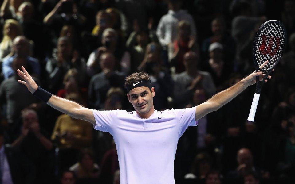 Не Надал, Федерер е спортист номер 1 за годината