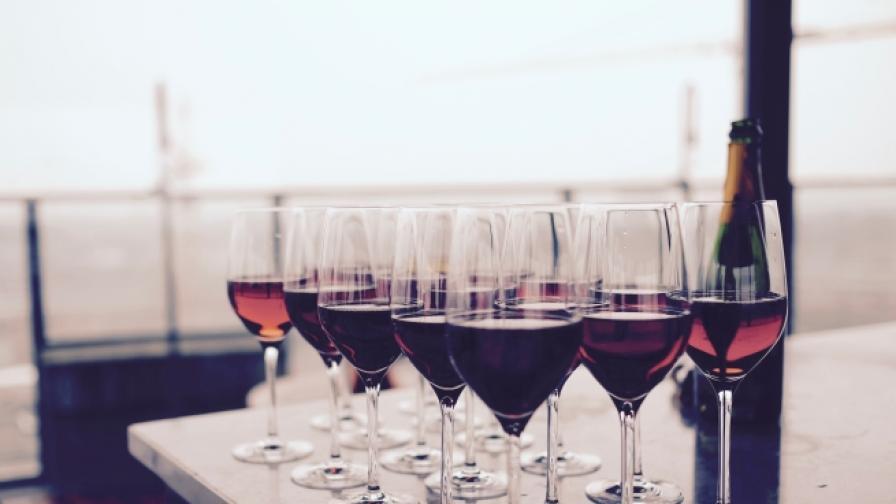 Червеното вино отключва центрове в мозъка.