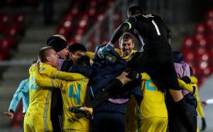 Астана и Спортинг - с рекорд в Лига Европа