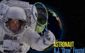 Космонавт на НАСА ще играе тенис в космоса