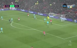 Манчестър Юнайтед - Борнемут 1:0 /първо полувреме/