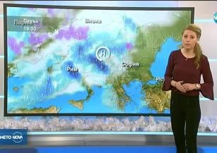 Прогноза за времето (15.12.2017 - обедна емисия)