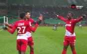 Лемар се подигра тежко със защитата на Сент Етиен