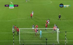 Гарет Бари върна надеждите на УБА срещу Юнайтед