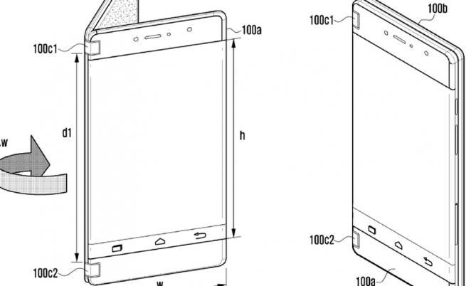 Samsung патентова още един сгъваем смартфон