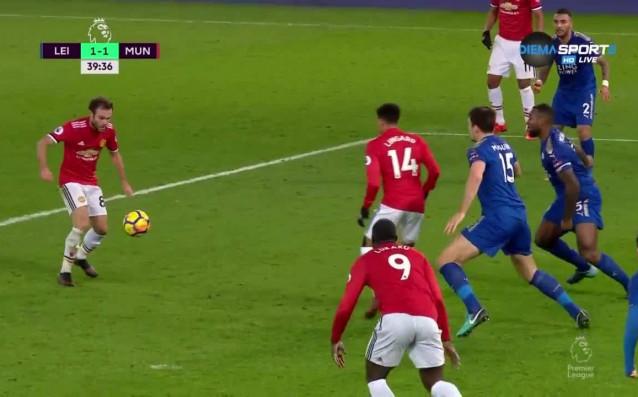 Отборите на Лестър и Манчестър Юнайтед сложиха точка на 19-ия