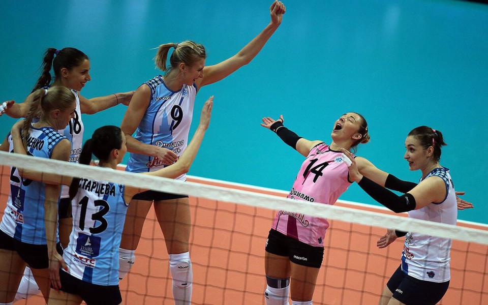 Ели Василева и Динамо вдигнаха Купата на Русия