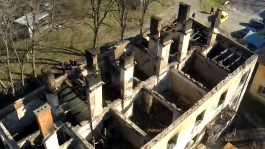 12 семейства останаха без дом заради пожар