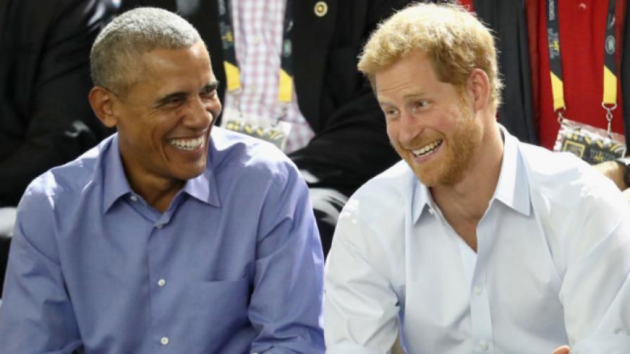 Обама пред принц Хари: Изпитах облекчение, когато напуснах Белия дом