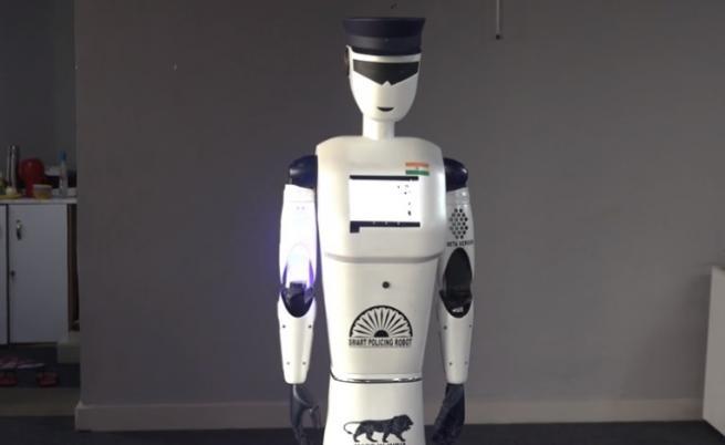 Това е първият робот полицай и катаджия
