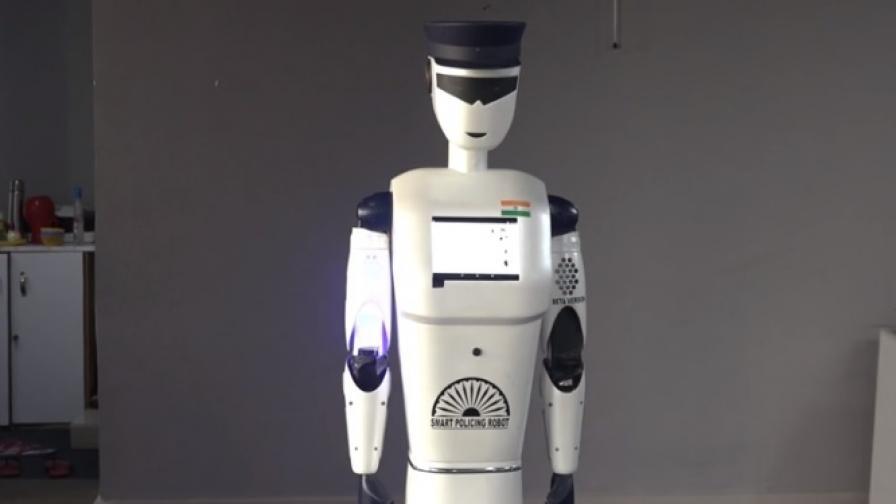 Това е първият робот катаджия