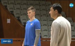 Левски картотекира руски волейболист