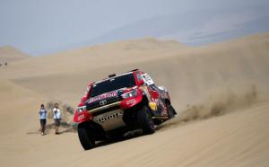Ал Атия взе 13-ия етап на Дакар, Сайнс чака крайната победа