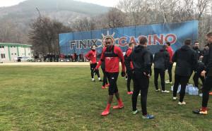 ЦСКА без Жеферсон в първата си контрола