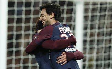 ПСЖ продължава за Купата, Сент Етиен отпадна след мач с 9 гола