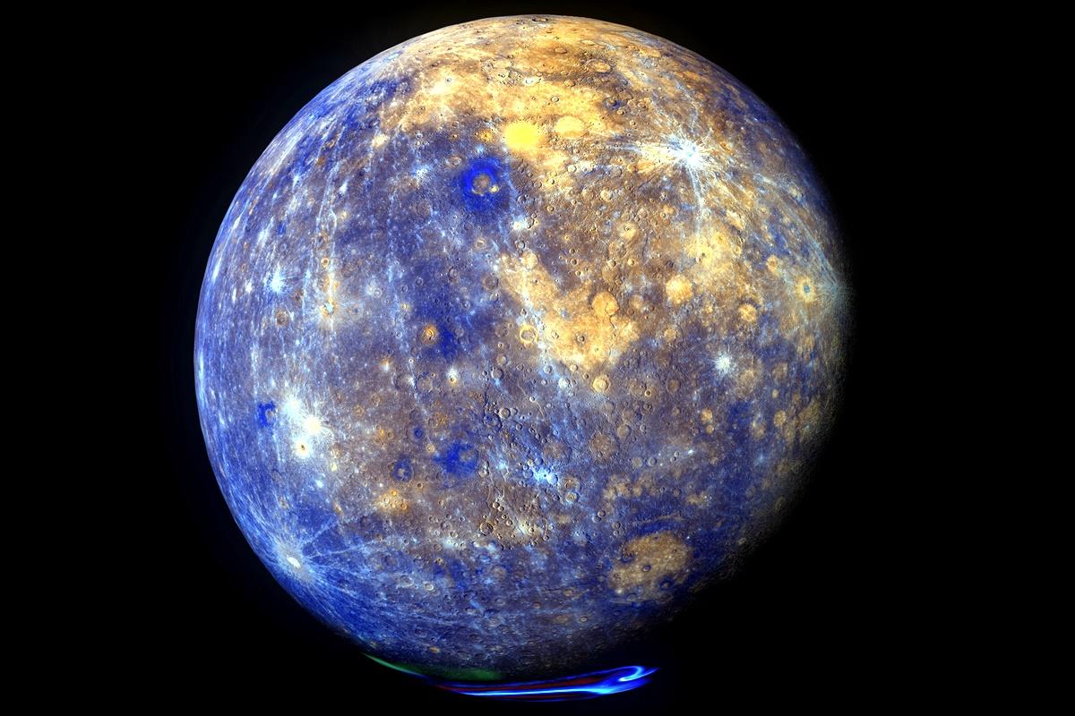 Меркурий<br /> Температурата от страната на Меркурий, която гледа към Слънцето, достига до около 427 градуса по Целзий. За сметка на това на тъмната страна е ледено студено – температурите падат до -179 градуса.<br /> Ако човек застане на границата между двете контрастни от към температура страни, би оцелял толкова, колкото може да задържи дъха си – около 2 минути.