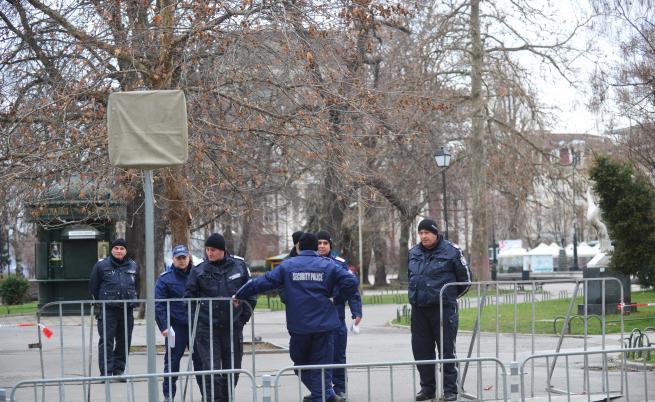 Блокада в центъра на София днес