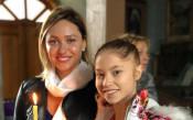 Ренета Камберова стана кръстница на Ерика Зафирова<strong> източник: facebook.com/BGRGfederation</strong>