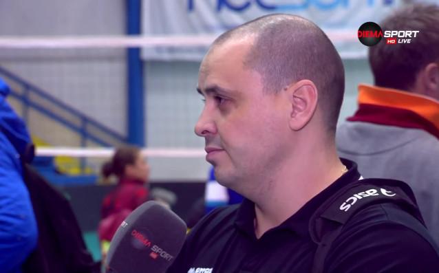 Старши треньорът на ВК Добруджа Петър Пенев изрази съжалението си