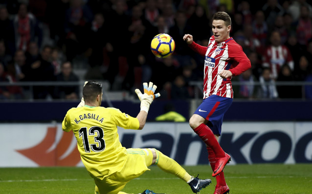 Атлетико Мадрид записа трудна и минимална победа над Ейбар в