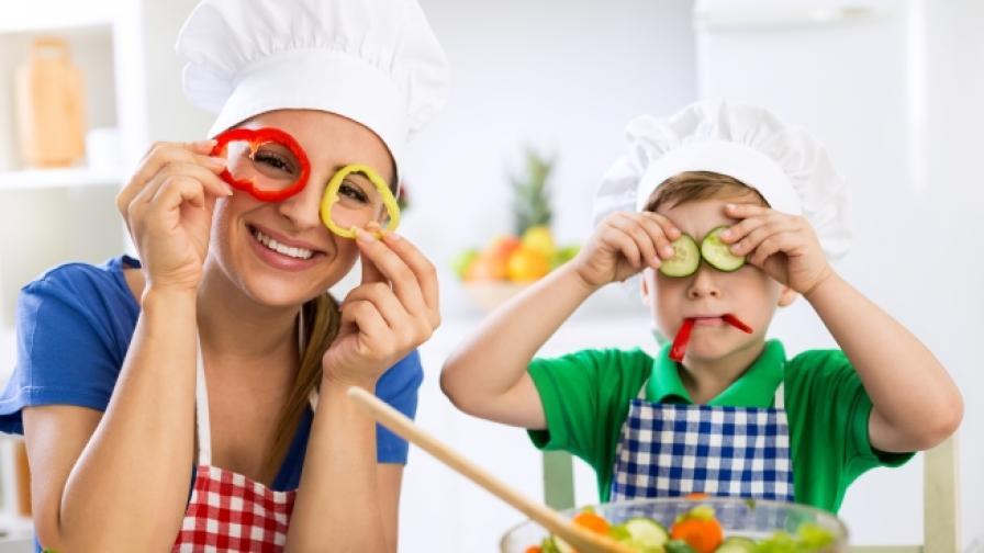 Няколко рецепти за вечеря, подходящи за деца