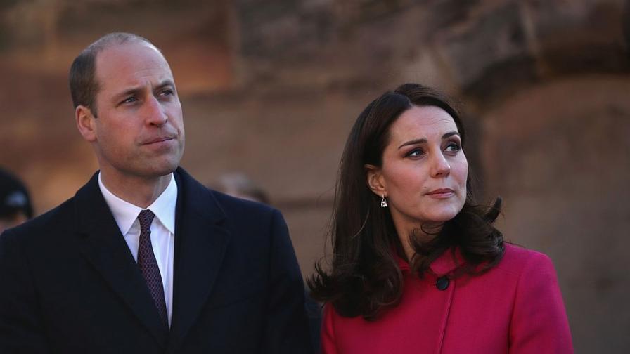 Принц Уилям и херцогиня Катрин в Ковънтри