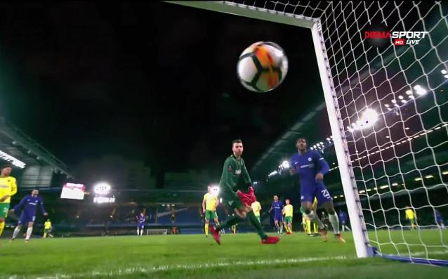 Нападателят на Челси Миши Батшуай успя да открие резултата срещу